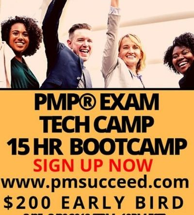 CLASS C - LIVE PMP® Exam Tech-Camp On Demand