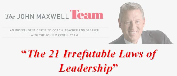 21 Irrefutable Laws of Leadership