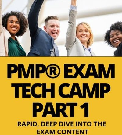 CLASS A - LIVE PMP® Exam Tech-Camp On Demand