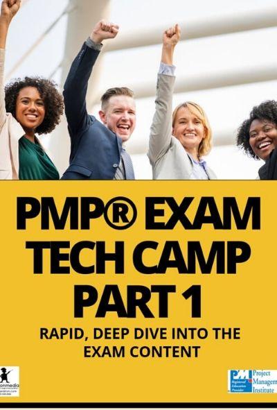 CLASS A - LIVE PMP® Exam Tech-Camp On Demand