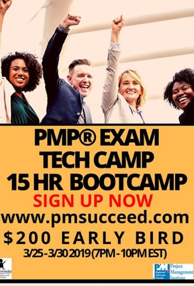 CLASS C - LIVE PMP® Exam Tech-Camp On Demand