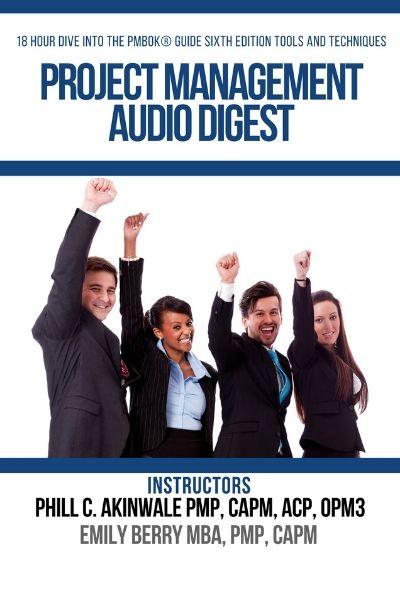 Instant Download- Project Management Audio Digest 18 Hour PMP® Exam Study