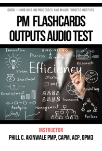 PMP Exam Outputs Audio Flashcards Test