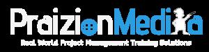 Praizion Media Logo White 2